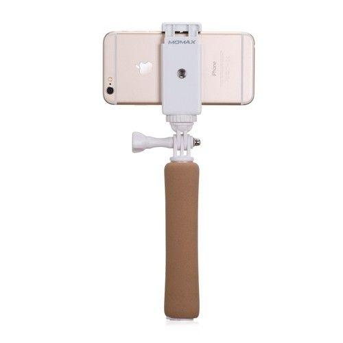 Монопод для селфи MOMAX Selfie Mini Bluetooth Selfie Pod 46cm Golden (KMS2L) - 6