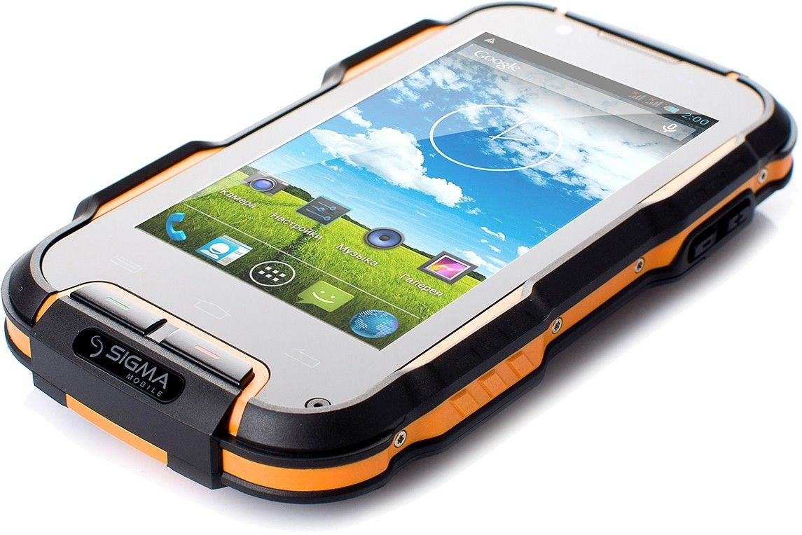 Мобильный телефон Sigma mobile X-treme PQ23 Black/Orange - 3