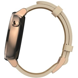 Смарт часы Motorola Moto 360 2nd Generation Smartwatch 42mm Stainless Steel with Rose Gold Leather Strap - 2