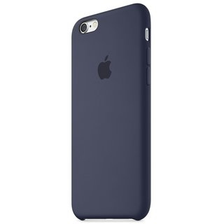 Панель Apple iPhone 6s Silicone Case Midnight Blue (MKY22ZM/A) - 1