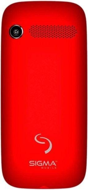 Мобильный телефон Sigma mobile Comfort 50 Slim Red-Black - 1