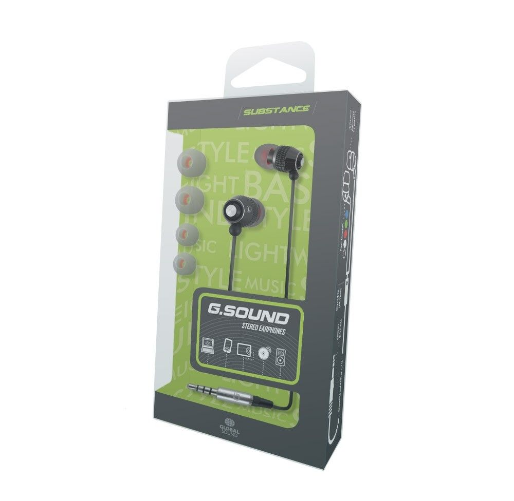 Наушники G.Sound С011Bk Black - 1