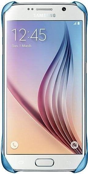 Накладка Samsung Zero S6 для Samsung Galaxy S6 Blue (EF-YG920BLEGRU) - 1