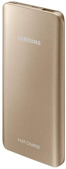 Портативная батарея Samsung Fast Charging Battery Pack 5200 mAh Gold (EB-PN920UFRGRU) - 3