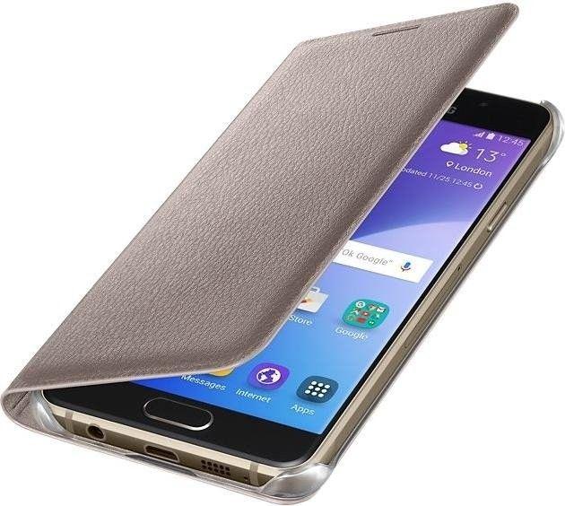 Чехол-книжка Samsung A510 EF-WA510PFEGRU Gold - 2