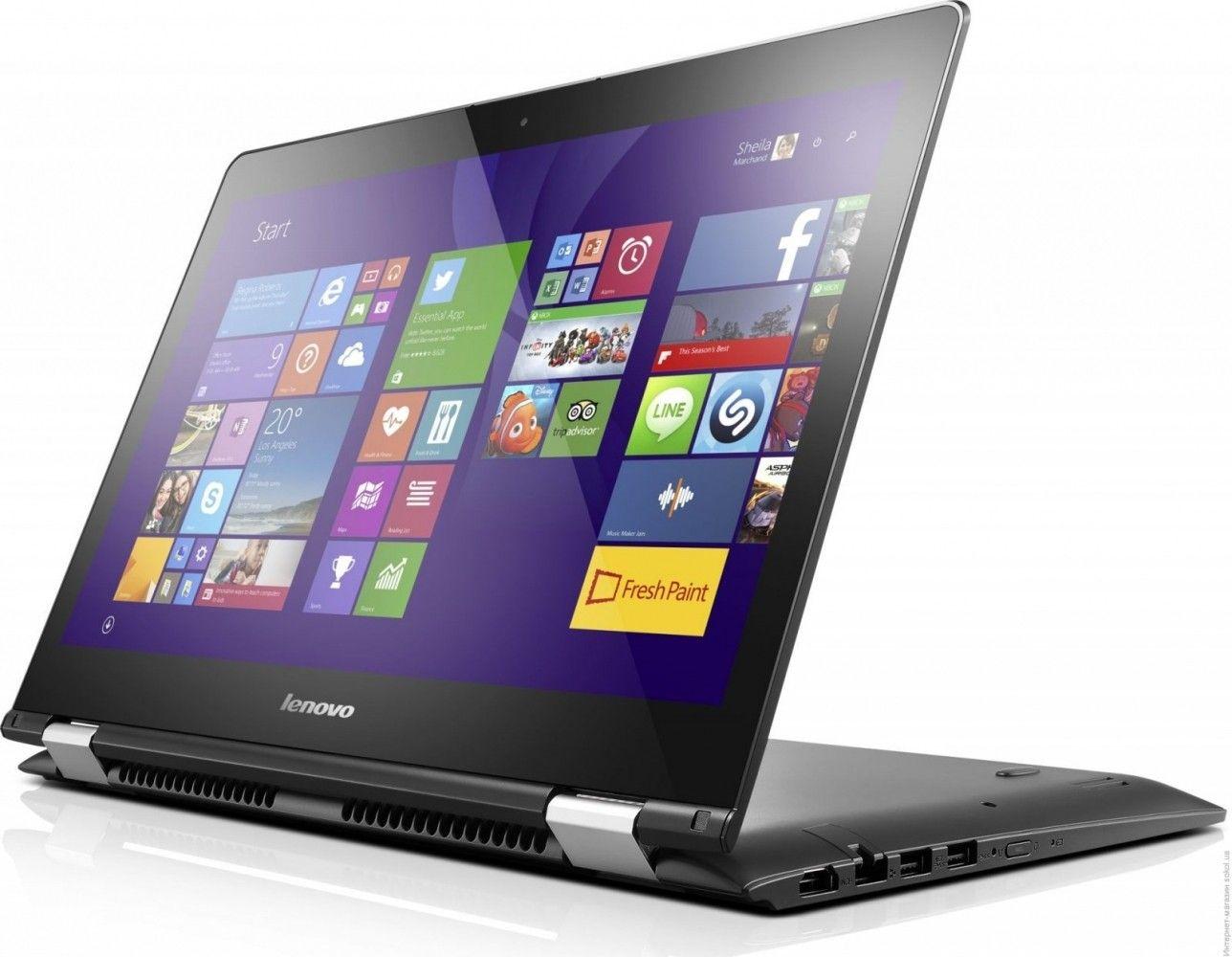 Ноутбук Lenovo Yoga 500-15 (80N600BDUA) Black - 1