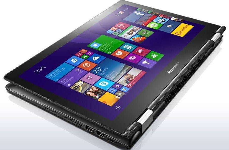 Ноутбук Lenovo Yoga 500-15 (80N600BDUA) Black - 2