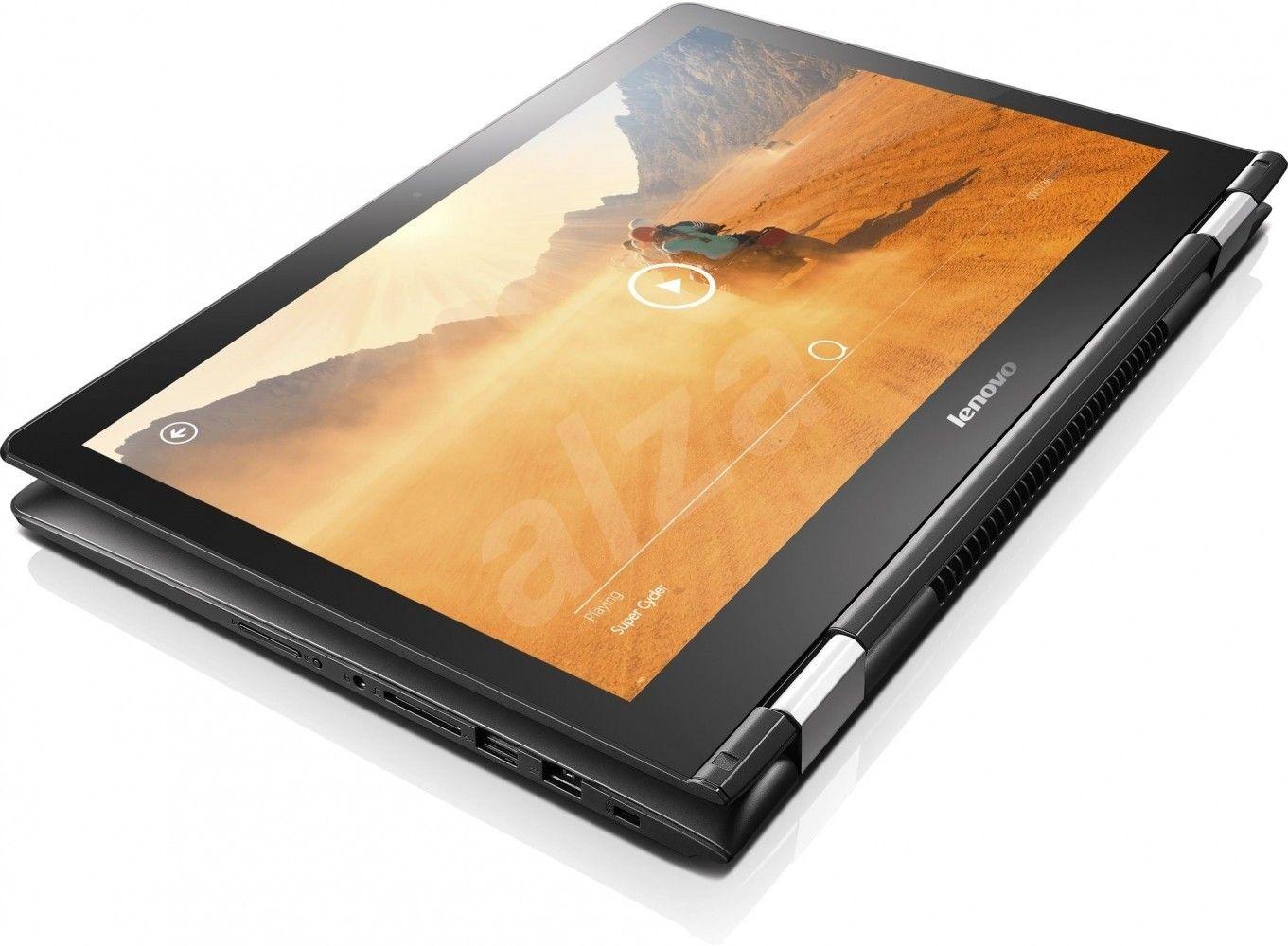 Ноутбук Lenovo Yoga 500-15 (80N600BDUA) Black - 3