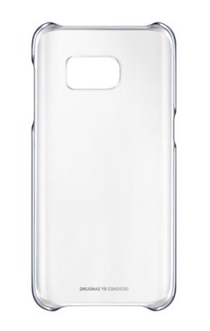 Чехол Samsung Clear Cover для Galaxy S7 Edge Black (EF-QG935CBEGRU) - 2