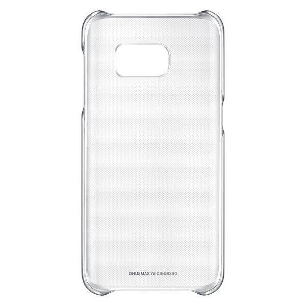 Чехол Samsung Clear Cover для Galaxy S7 Edge Silver (EF-QG935CSEGRU) - 2