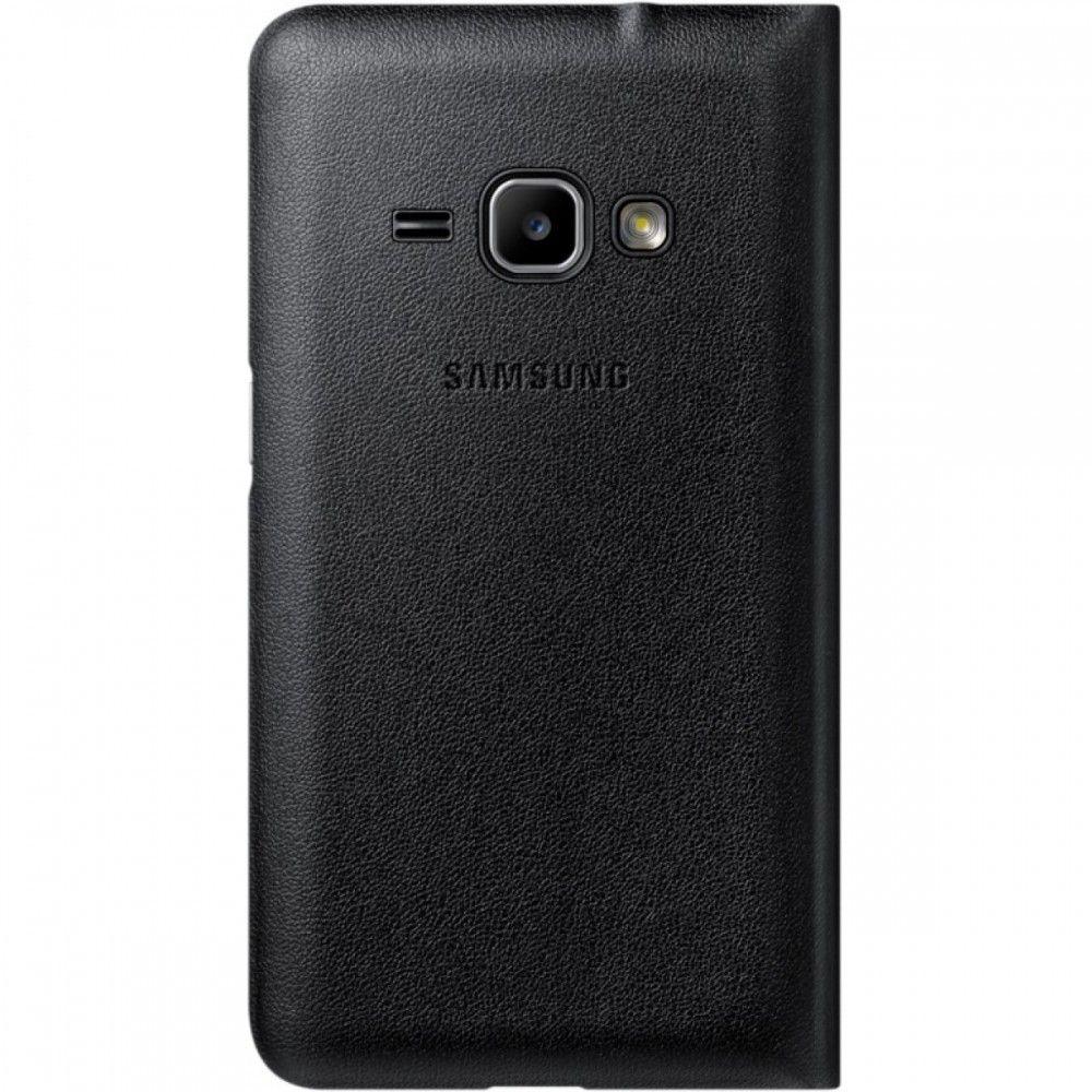 Чехол-книжка Flip Wallet для Samsung J1 mini 2016 Black (EF-FJ105PBEGRU) - 1