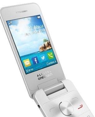 Мобильный телефон Alcatel One Touch 2012D Pure White - 3