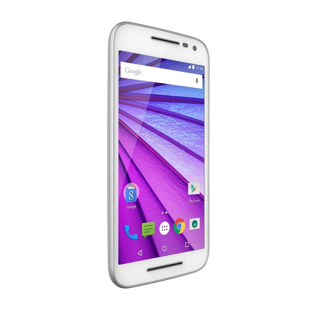 Мобильный телефон Motorola Moto G 16GB (XT1550) White - 4