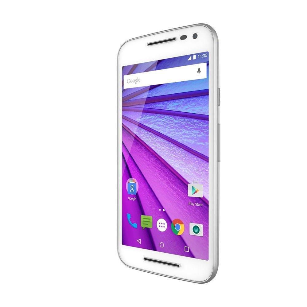 Мобильный телефон Motorola Moto G 16GB (XT1550) White - 5