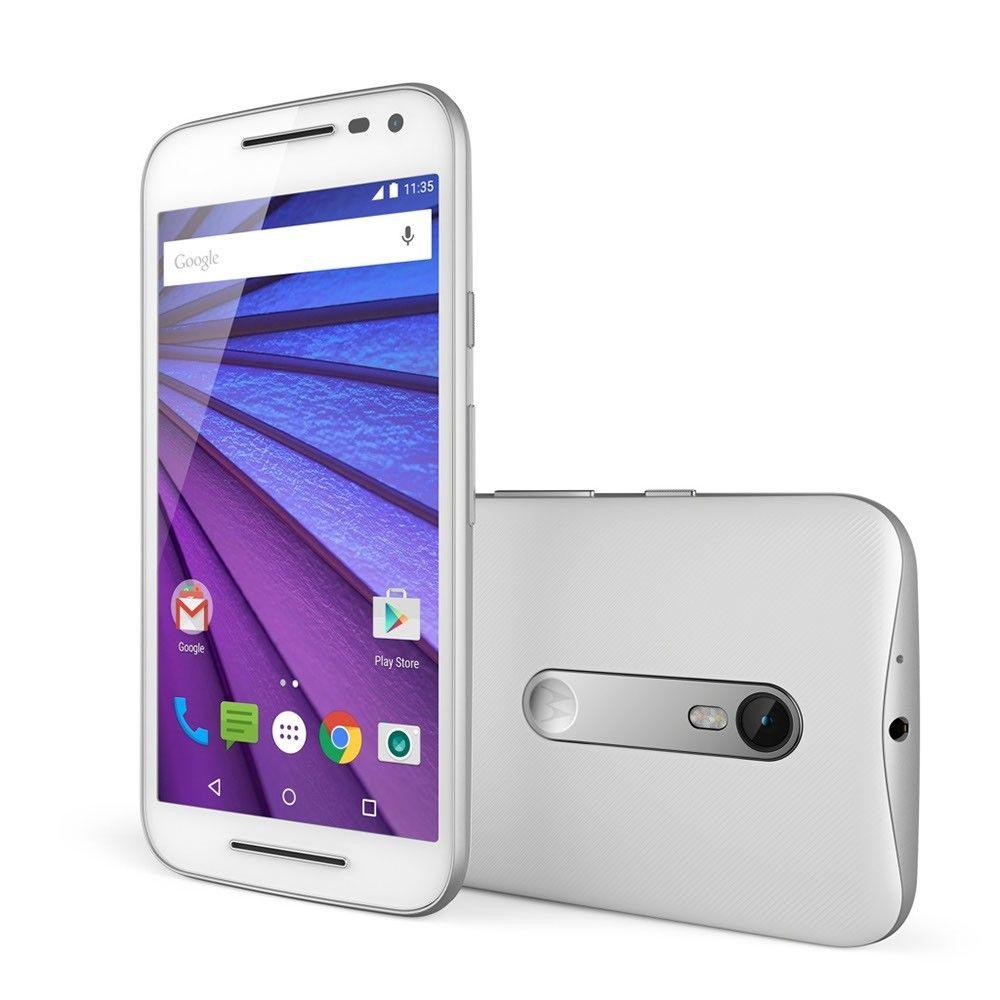 Мобильный телефон Motorola Moto G 16GB (XT1550) White - 6