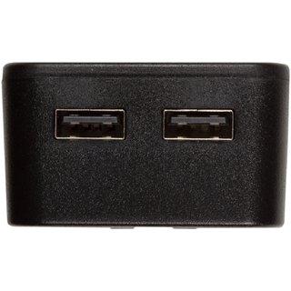 Сетевое зарядное устройство Tylt Wall Travel Charger 4,2A Dual USB Port Black-Gray (USBTC42BL-EUK) - 2