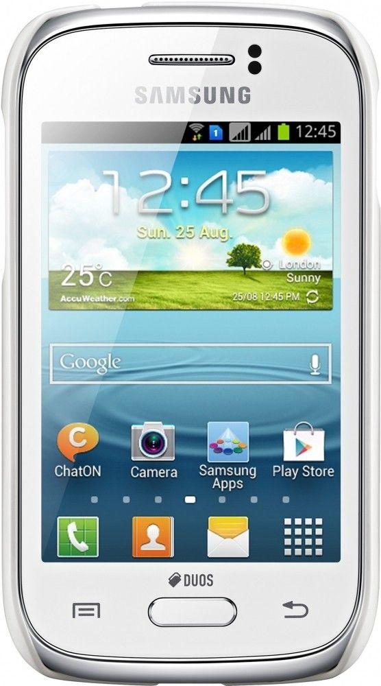 Накладка Samsung для Galaxy Young S6312 White (EF-PS631BWEGWW) - 1