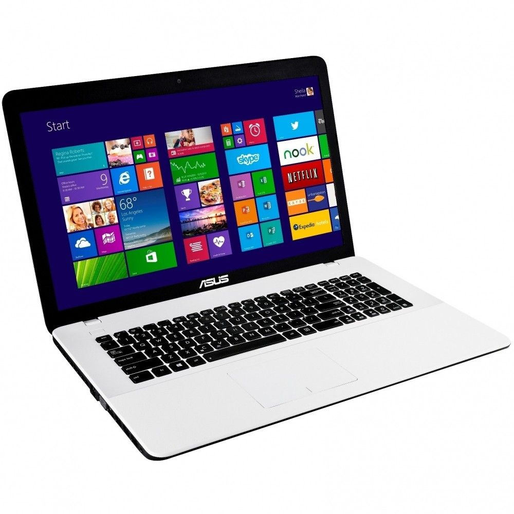 Ноутбук Asus X751SJ (X751SJ-TY002D) White - 1