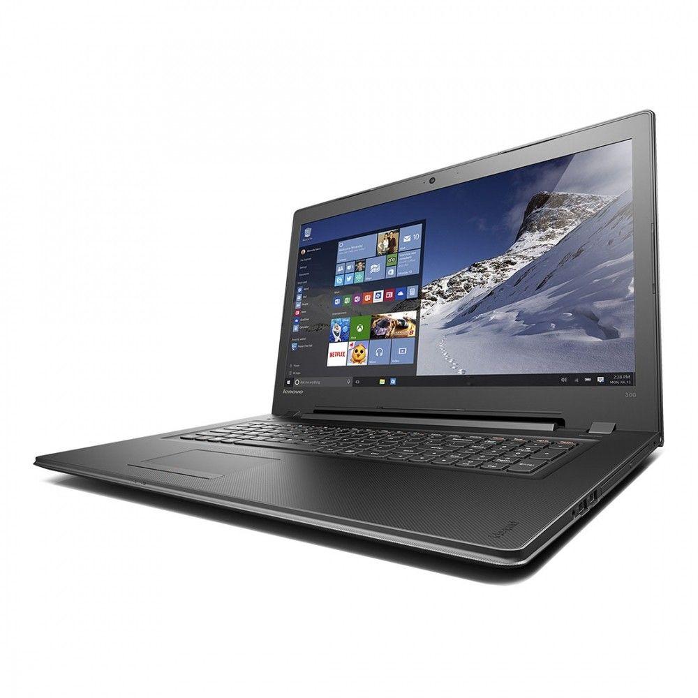 Ноутбук Lenovo IdeaPad 300-15 (80Q7013BUA) Black - 1