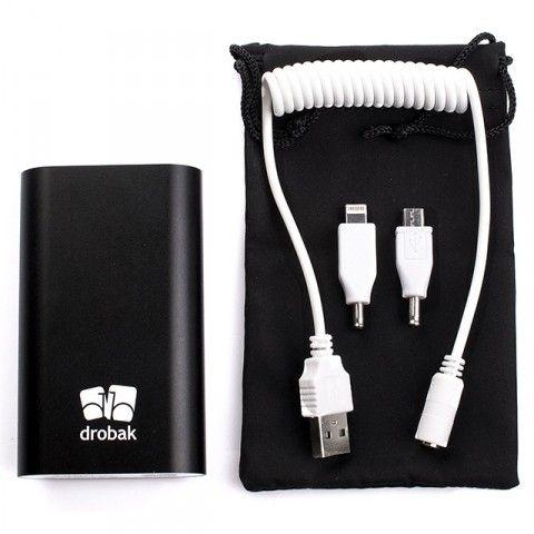 Портативная батарея Drobak Power 4400 mAh Black - 3