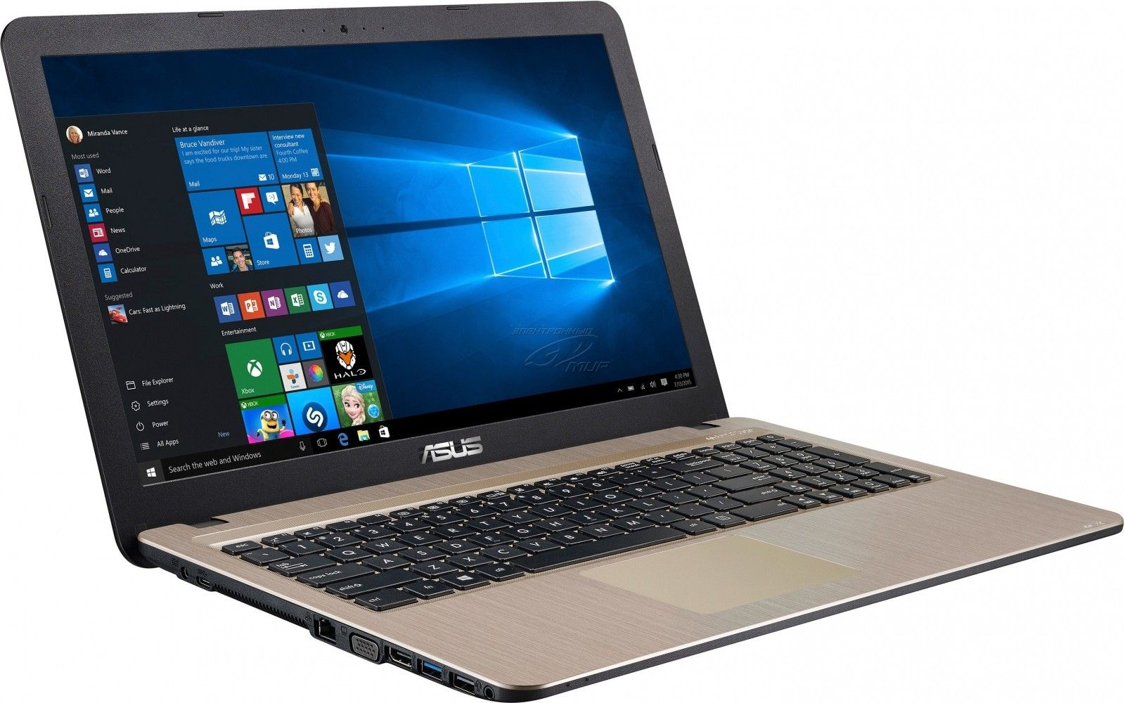 Ноутбук Asus X540LA (X540LA-DM005D) Chocolate Black - 4