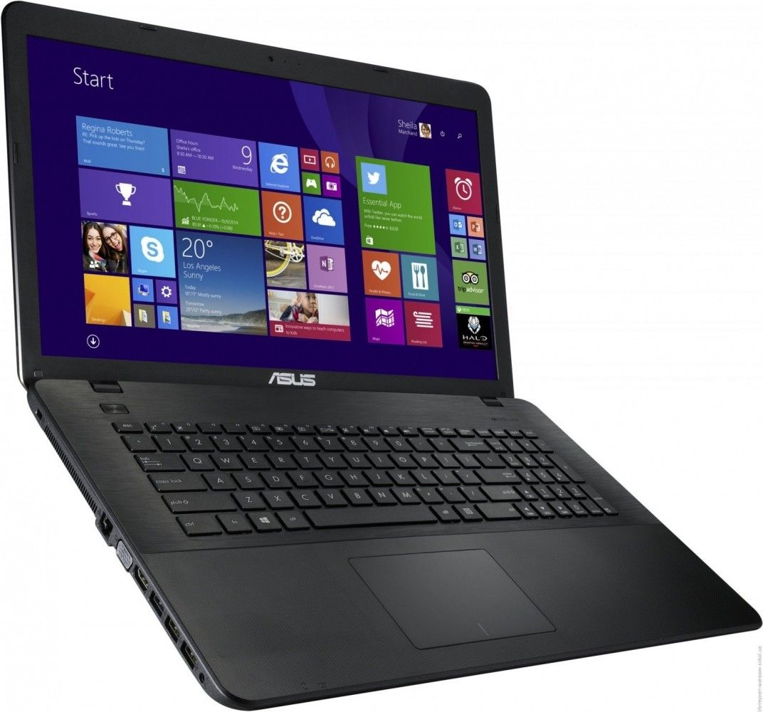 Ноутбук Asus X751LB (X751LB-TY256D) Black - 1
