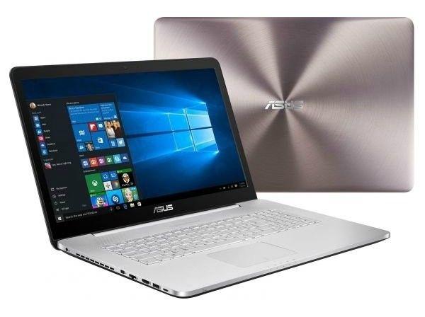 Ноутбук Asus N752VX (N752VX-GB156T) - 1