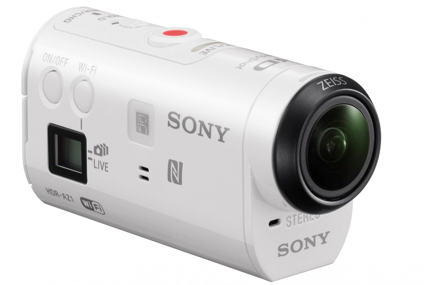 Экшн-камера SONY Action Cam AS200 White (HDR-AS200) - 1