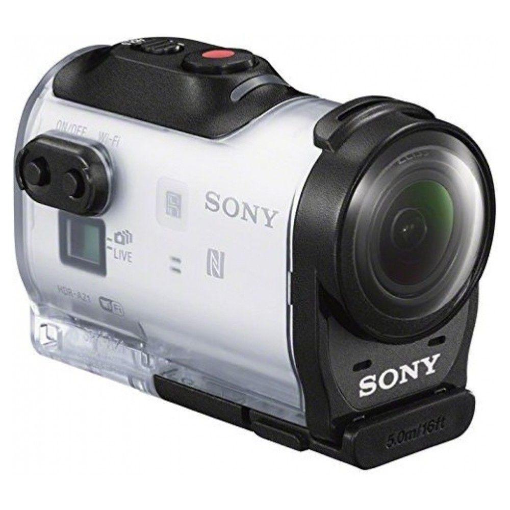 Экшн-камера SONY Action Cam AS200 White (HDR-AS200) - 4
