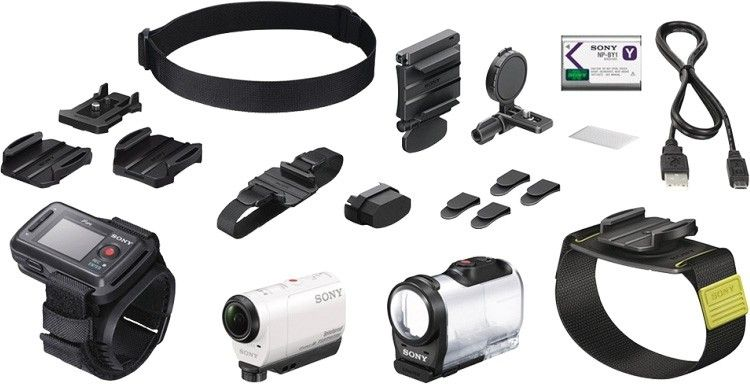 Экшн-камера SONY Action Cam AS200 White (HDR-AS200) - 5