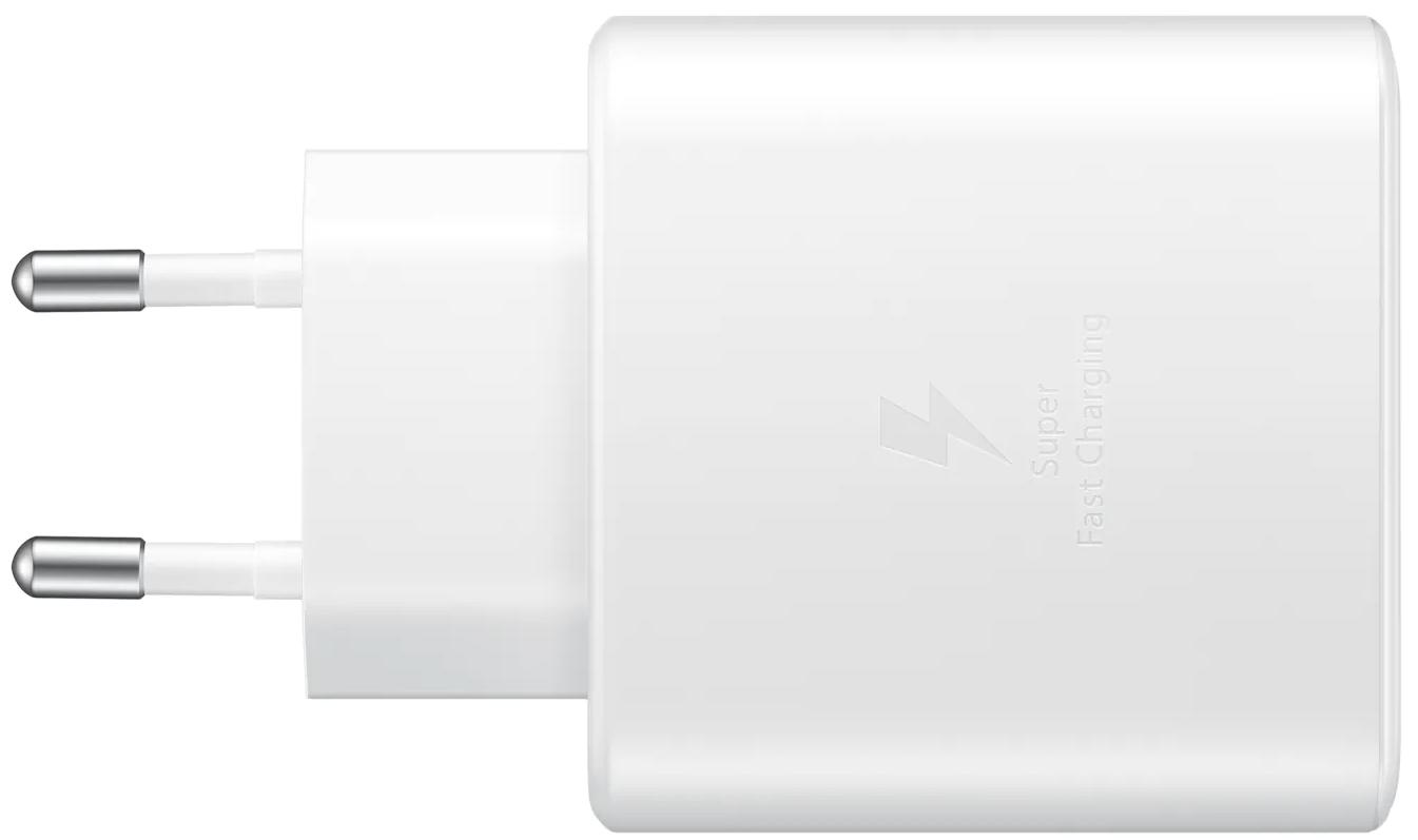 Сетевое зарядное устройство Samsung Fast Charging Type-C 45W (EP-TA845XWEGRU) White от Територія твоєї техніки - 4