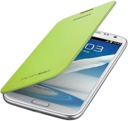Чехол Samsung для GT-N7100 Galaxy Note II Lime Green (EFC-1J9FLEGSTD) - 1