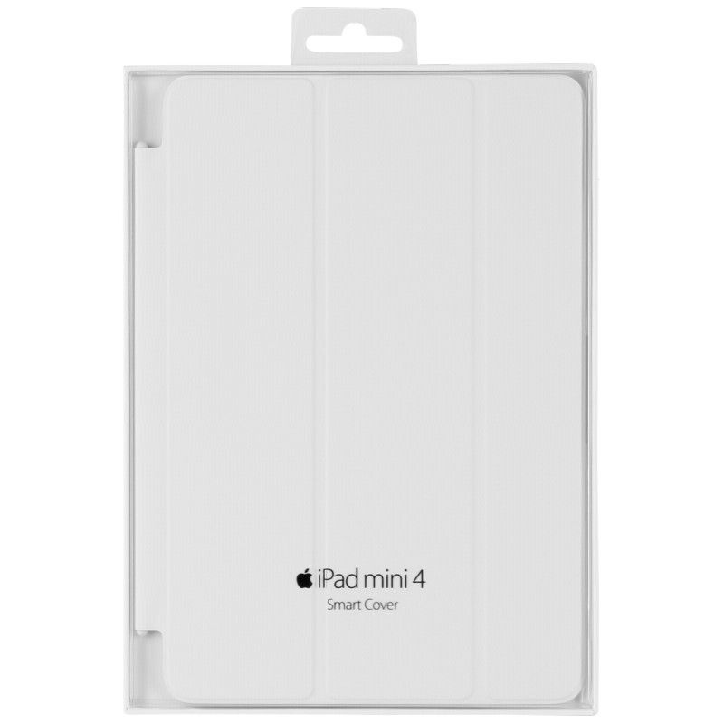 Чехол-книжка Apple Smart Cover для iPad mini 4 (MKLW2ZM/A) White - 3