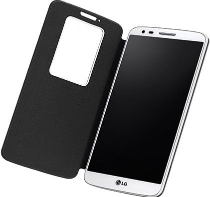 Чехол LG QuickWindow для LG G2 D802 Black (CCF-240G.AGEUBK) - 2