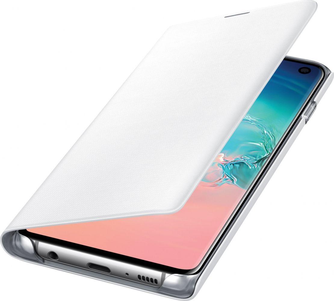 Чехол-книжка Samsung LED View Cover для Samsung Galaxy S10 (EF-NG973PWEGRU) White от Територія твоєї техніки - 4