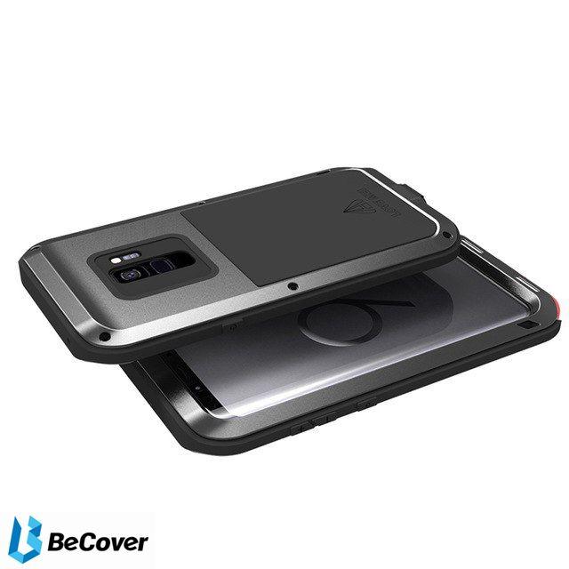 Панель Love Mei Powerful для Samsung Galaxy S9 SM-G960 (BC_703131) Black от Територія твоєї техніки - 2