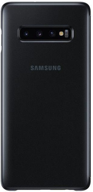 Чехол-книжка Samsung Clear View Cover для Samsung Galaxy S10 Plus (EF-ZG975CBEGRU) Black от Територія твоєї техніки - 2
