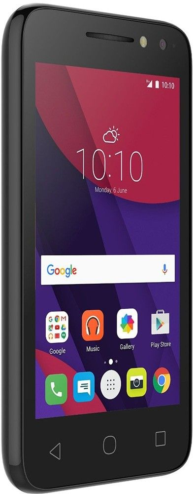 Мобильный телефон Alcatel 4034D Volcano Black - 2
