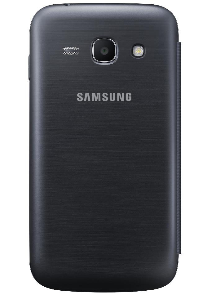 Чехол Samsung для Galaxy Ace 3 S7272 (EF-FS727BBEGWW) Black - 1
