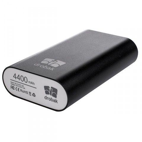 Портативная батарея Drobak Power 4400 mAh Black - 2