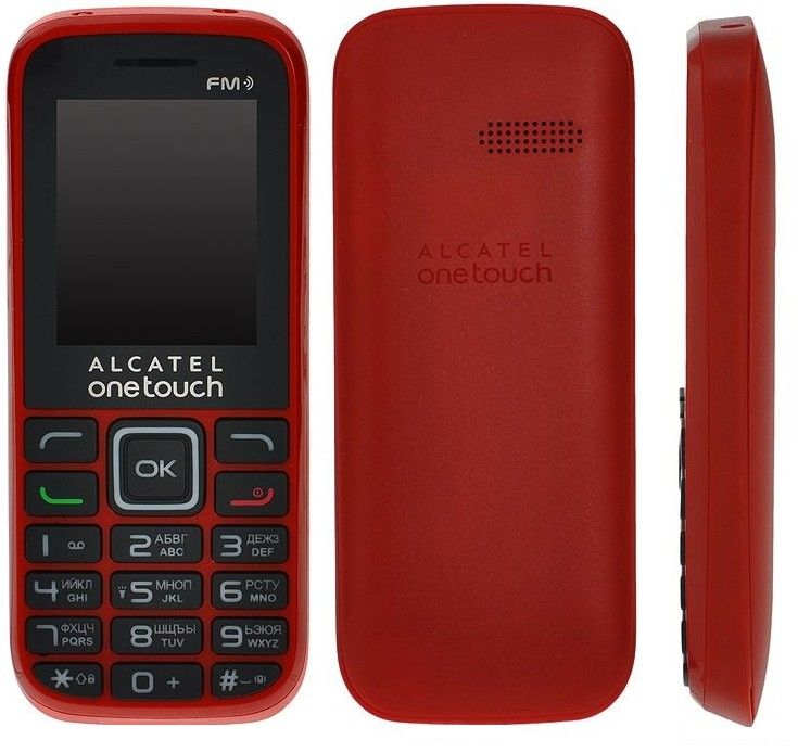 Мобильный телефон Alcatel One Touch 1040D Red - 1