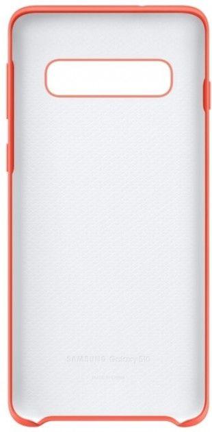 Панель Samsung Silicone Cover для Samsung Galaxy S10 (EF-PG973THEGRU) Berry Pink от Територія твоєї техніки - 4