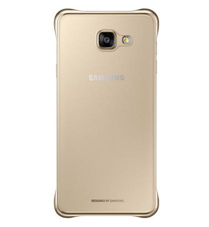 Чехол Samsung A710 EF-QA710CFEGRU Gold - 3