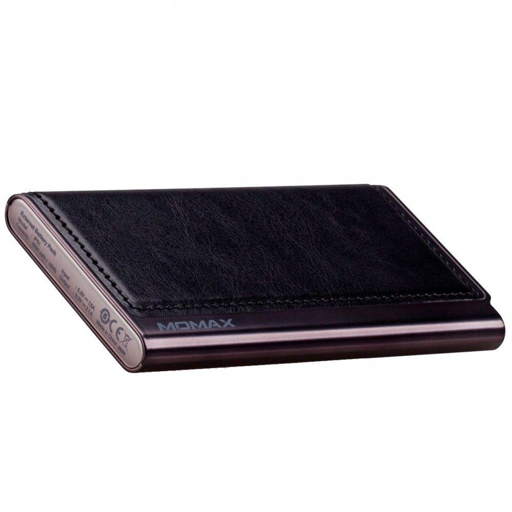 Портативная батарея MOMAX iPower Elite External Battery Pack (MFI) 5000mAh Black (IP51MFID) - 1