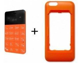 Чехол Elari CardPhone Case for iPhone 6 Plus /6s Plus Orange (LR-CS6PL-RNG) - 1