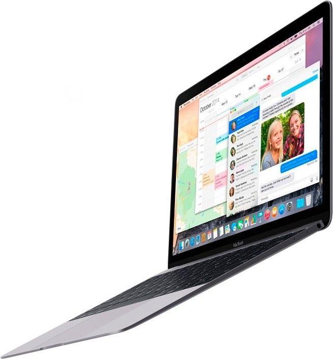 "Ноутбук Apple MacBook 12"" Silver (MF865UA/A) - 3"