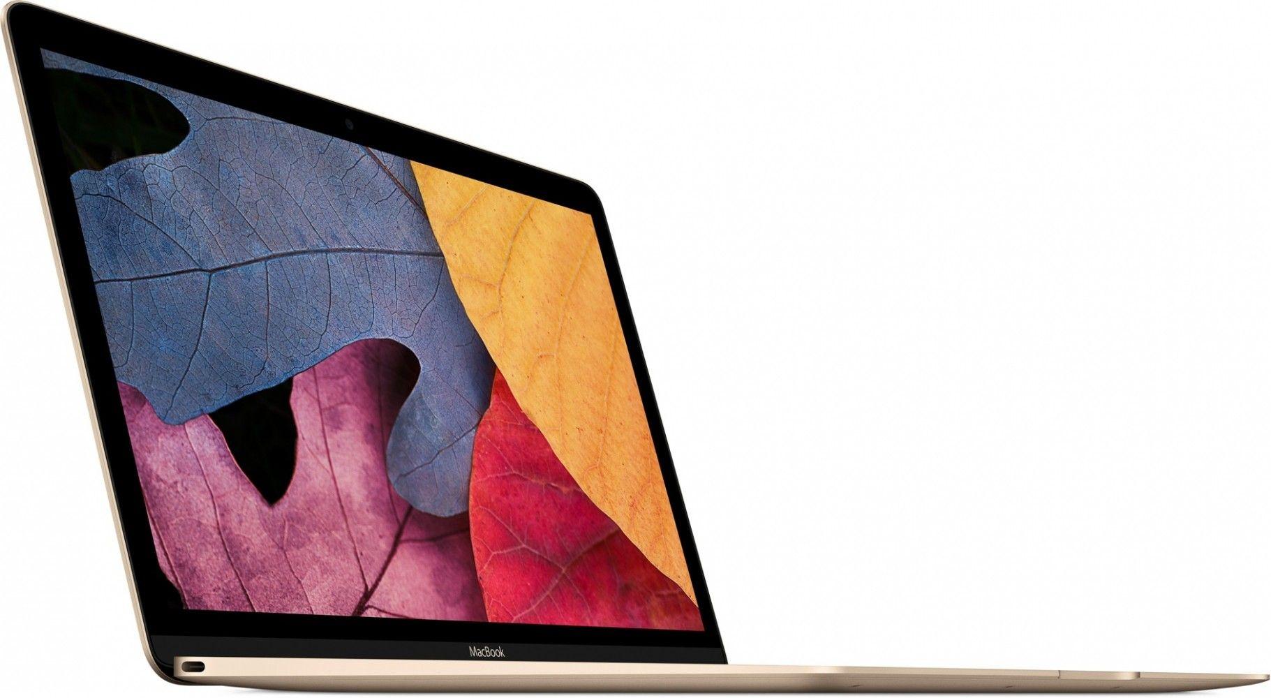 """Ноутбук Apple MacBook 12"""" Gold (MLHE2UA/A) - 1"""
