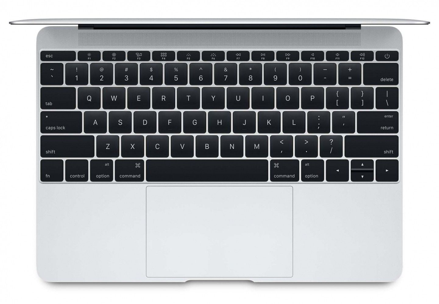 "Ноутбук Apple MacBook 12"" Silver (MLHC2UA/A) - 1"