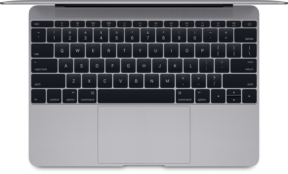 "Ноутбук Apple MacBook 12"" Space Gray (MLH82UA/A) - 2"