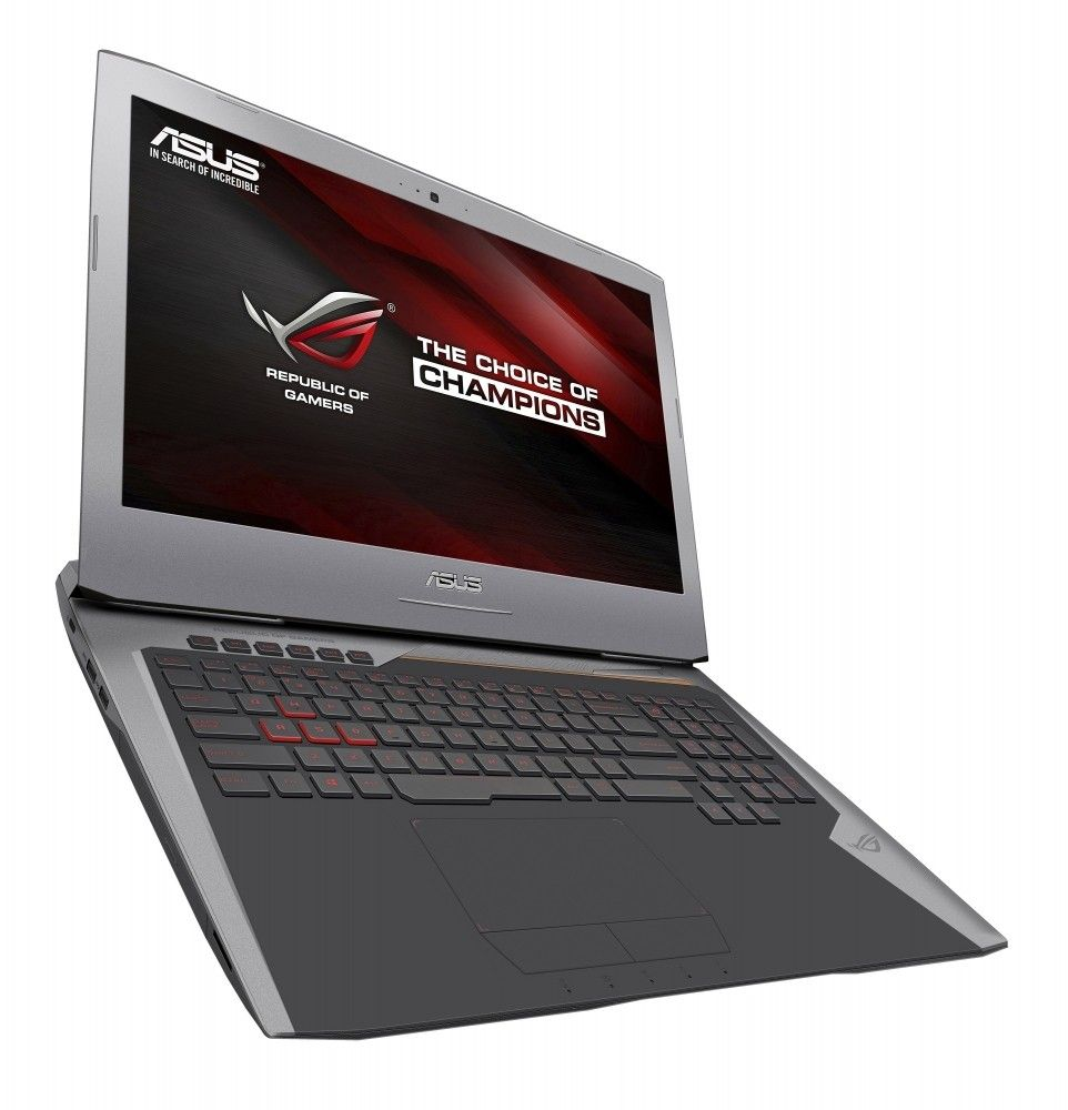 Ноутбук ASUS ROG G752VT Gray (G752VT-GC155R) - 1